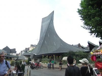 rouen ジャンヌ・ダルク教会