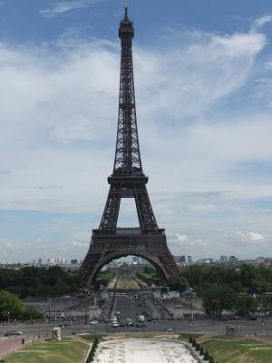 Tour Eiffel @ Jardin du Trocadero 1