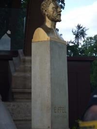 エッフェルの像