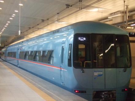 青いロマンスカー@新宿 DSCF2661_convert_20110130193444