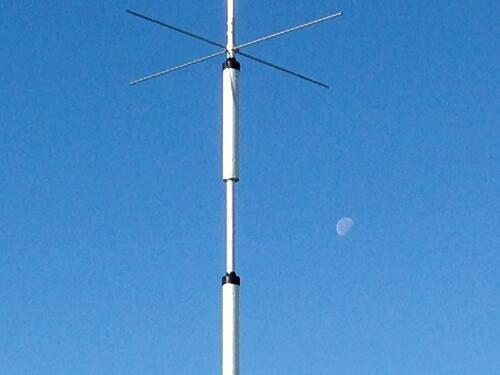 アンテナと月