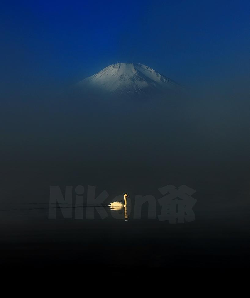 2013 11 24 山中湖朝ガス D3x (7)@S