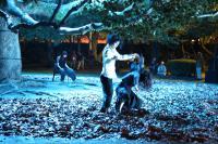 野外ダンス