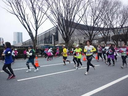 渋谷表参道Womens Run