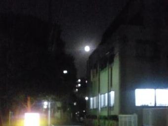 10月30日満月