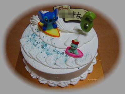 みさき6歳アイスケーキ