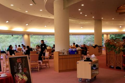 2014.9.24 レストラン (鴨川カントリークラブ:千葉県鴨川市)