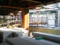 麻布図書館建築現場