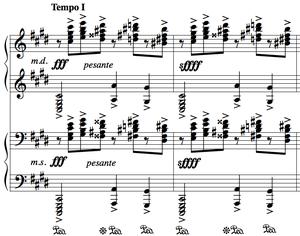 ラフマニノフ前奏曲嬰ハ短調