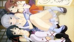 169274198 cleavage iino_makoto irori kimono komurasaki machine-doll_wa_kizutsukanai no_bra pantsu undressing yaya yukata