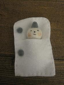 ◆雪だるま寝袋1