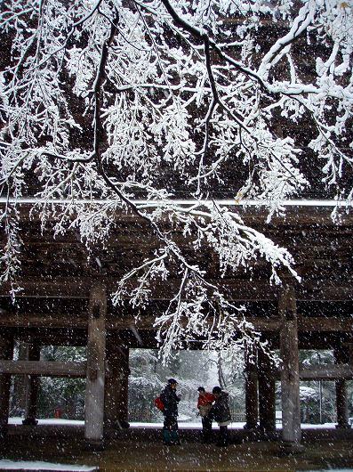 円覚寺三門にて2012029