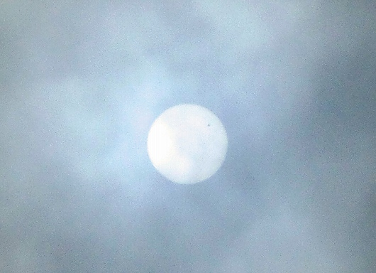 金星の太陽面通過2-20120606