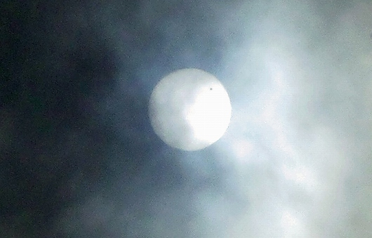 金星の太陽面通過8-20120606