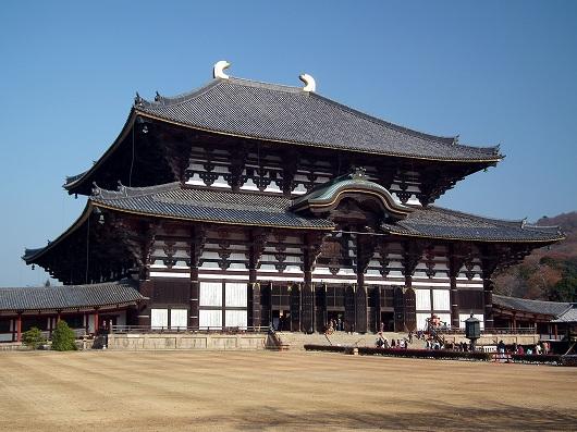 東大寺大仏殿3-20111229
