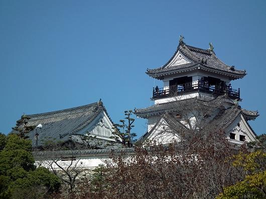 高知城遠望20120303