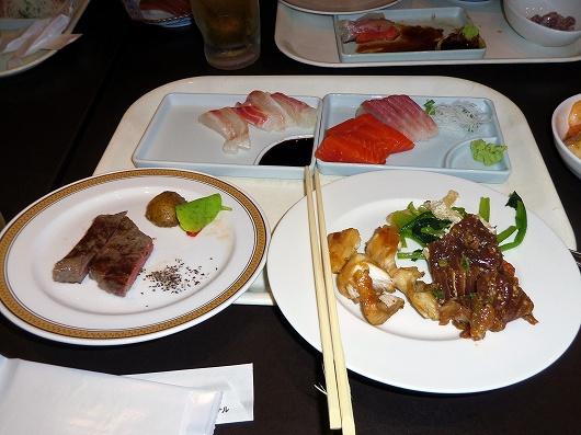 杉乃井ホテル夕食20120804