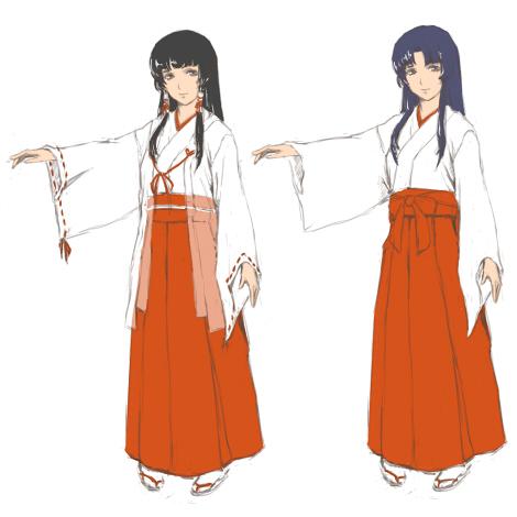 浮柚巫女服