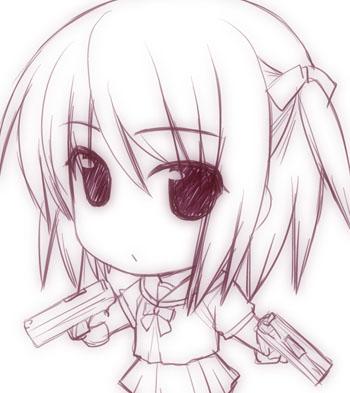 二丁拳銃少女01b