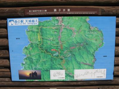 天城越え、周辺地図