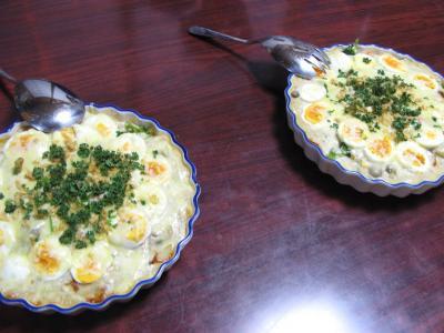 グラタン二皿