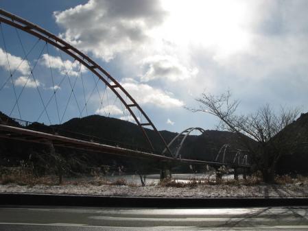 船明ダム、ダム湖