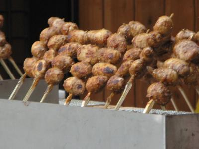 えび芋串焼き
