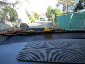 車に乗ると・・・・