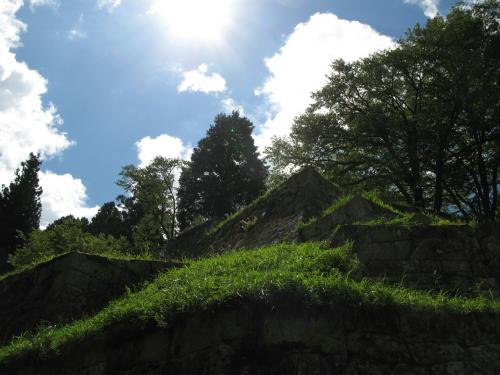 岩村城石垣