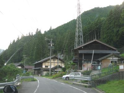 平谷村辺り