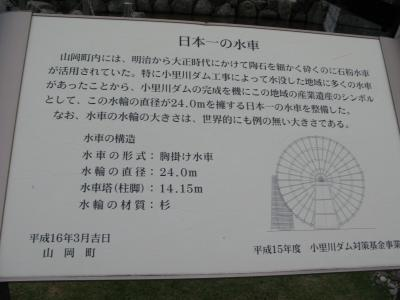 日本一の水車