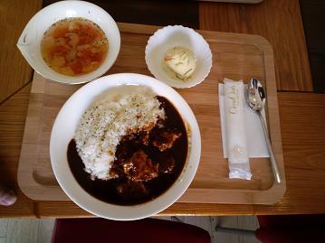 角煮ハヤシライス