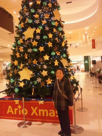 クリスマス母