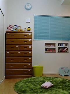 娘の部屋に増えたもの。(ラグ)