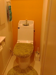 2階トイレ。