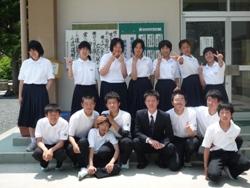 20100611実習生お別れ会3