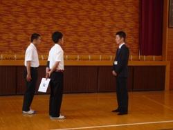 20100611実習生お別れ会