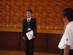 20100611実習生お別れ会5
