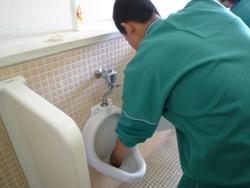 20100715,7月トイレ掃除4