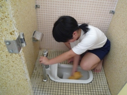 20100715,7月トイレ掃除