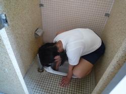 20100715,7月トイレ掃除2