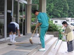 20100720トレセン大掃除