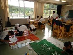 20100910学習発表会準備