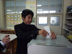 201001125生徒会役員選挙 023