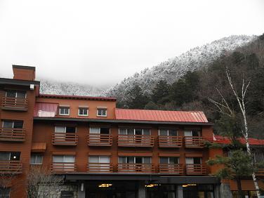 ホテル裏山