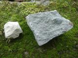 山頂の岩石