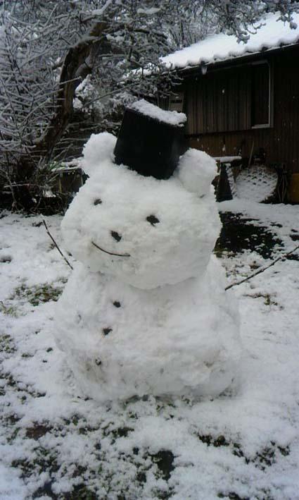 2010大晦日雪だるまs