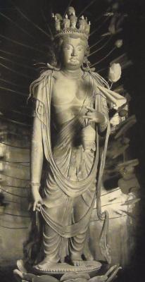 法華寺 十一面観音像