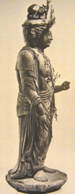 勝光寺 聖観音像 側面