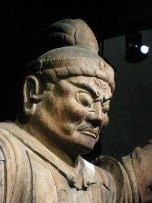 亀岡大宮神社伝来・天王立像上半身
